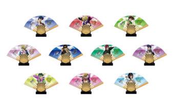 ジョジョの奇妙な冒険 THE ANIMATION ミニ扇子コレクション