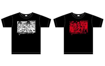 Tシャツ『ジョジョ~新たなる旅立ち~ver.』