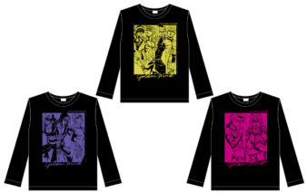 ロングTシャツ『ジョジョ~新たなる旅立ち~ver.』【vol.2】