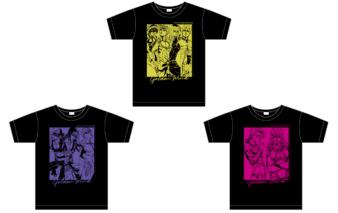 Tシャツ『ジョジョ~新たなる旅立ち~ver.』【vol.2】